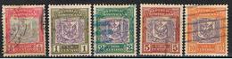 REP. DOMINICANA 17 //  YVERT 102, 103, 104, 105, 106 // 1901 - Dominican Republic