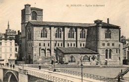 ROMAN....eglise St Bernard   No.25 - Romans Sur Isere