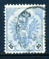 Bosnien-Herz. Mi. 26 Xa (grauultramarin) Gestempelt - Bosnien-Herzegowina