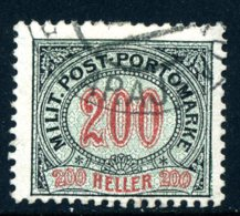 Bosnien-Herz. PORTO Mi. 13 B (K 12 1/2:13) Gestempelt - Bosnien-Herzegowina