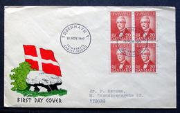 Denmark 1947 I. C. Jacobsen (Carlsberg Brewery Founder) MiNr.301 FDC    ( Lot Ks)  Barrows - FDC