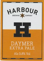 HARBOUR BREWING COMPANY (LANIVET, ENGLAND) - DAYTIME EXTRA PALE - PUMP CLIP FRONT - Signs