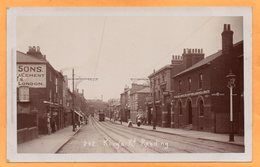 Reading UK 1908 Real Photo Postcard - Reading