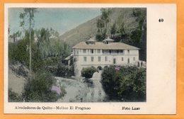 Quito Ecuador 1905 Postcard - Ecuador