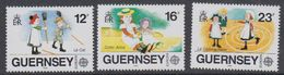 Europa Cept 1989 Guernsey 3v ** Mnh (44107F) - 1989