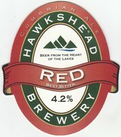 HAWKSHEAD BREWERY (STAVELEY, ENGLAND) - RED BEST BITTER - PUMP CLIP FRONT - Signs