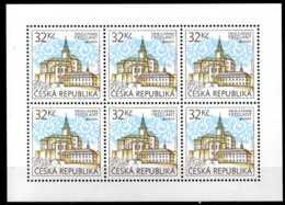 2017 Czech Rep.CEPT Europe - Castles -Frýdlant (Friedland) - Sheetlet Of 6 V -MNH** MI 920 - Tschechische Republik