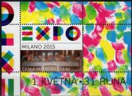 2015 Czech Rep. -World Expo MIlano 2015 - Leonardo Da Vinci Last Supper -MS - MNH** MI B 57 - Czech Republic