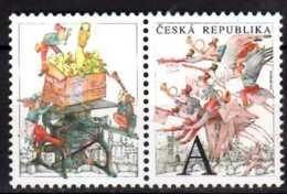 2015 Czech Rep. - Grüss Marke / Greetings Stamps -Flying Post With Coupon - MNH** MI KB 839 ZD - Czech Republic