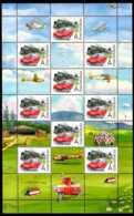 2017 Czech Rep. - Grüss Marke / Greetings Stamps - Oldtime - Cars, Train, Mofa, Glider -SS - MNH** MI KB 948 - Tschechische Republik