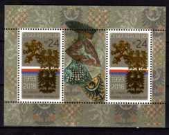 2018 Czech Rep. - 25 Years Of Czech Statehood - Coad Of Arms Of Czech - MS - MNH MI B 68 - Tschechische Republik
