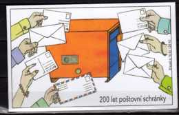 2017 Czech Rep. - 200 Years Of Post Letter Box - Booklet MNH** MI MH 196 - Tschechische Republik