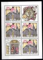 2015 Czech Rep. Pilsen / Plizen European Capital Of Culture 2015 - Sheetlet Of 4 V And Coupon -MNH** MI 835 - Czech Republic