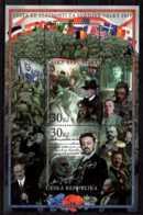 2017 Czech Republic - World War I -MS IV - MI B 66 - All MNH**  Independance, Flags, Stamps On Stamps - Tschechische Republik