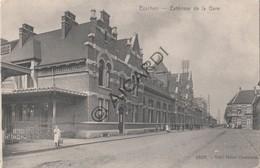Postkaart/Carte Postale ESSCHEN / ESSEN Extérieur De La Gare (C565) - Essen