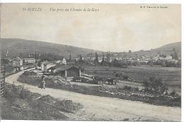 SAINT SORLIN - Vue Prise Du Chemin De La Gare - Autres Communes