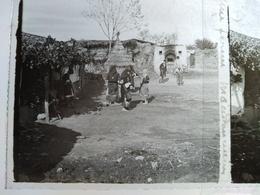 GRÈCE- Macédoine - Une Ferme En Macédoine - Plaque De Verre Stéréoscopique 6x13 - 1918 - TBE - Diapositiva Su Vetro