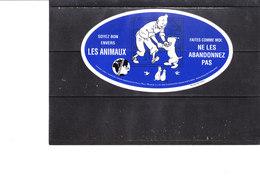 Autocollant Tintin & Milou - Autocollants