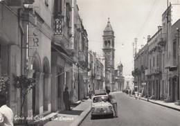 GIOIA DEL COLLE-BARI-VIA CAVOUR-CARTOLINA VIAGGIATA IL 20-4-1962 - Bari