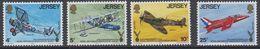 Jersey 1975 Royal Air Force Association 4v ** Mnh (44108D) - Jersey