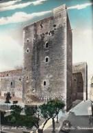 GIOIA DEL COLLE-BARI-LE DUE TORRI DEL CASTELLO-CARTOLINA VIAGGIATA IL 25-2-1963 - Bari