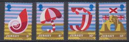 Jersey 1975 Holiday 4v ** Mnh (44108E) - Jersey