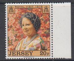 Jersey 1975 Royal Visit 1v ** Mnh (44108G) - Jersey