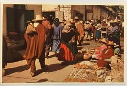 (698) Peru - Market Scene In Cajamarca - Pérou