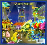 FRANCE #4378-83   -  LA FÊTE  FORAINE- 2009 - France