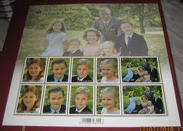 De Koninklijke Familie Met De Kinderen Van  HH.MM De Koning & De Koningin 4569/73** La Famille Royale - Belgium