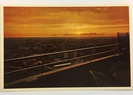 (701) Peru - Lima - Sunset Over San Lorenzo Island - 22th Floor Of Crillon Hotel - Pérou