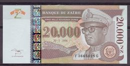 Zaire 20000 1996  Giesecke - Zaïre