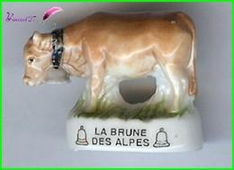 """Feve De Collection Les VACHE Edition Atlas """" La Brune Des Alpes """" Cow #A37 - Animaux"""