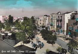 GIOIA DEL COLLE-BARI- PIAZZA XX SETTEMBRE-CARTOLINA VIAGGIATA IL 6-4-1962 - Bari