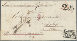Österreich - Vorphilatelie: 1849, Wiener Stadtpost, Kompletter Faltbrief Von Der Amtsverwaltung Roth - Autriche