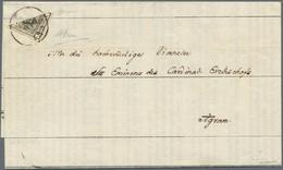Österreich: 1850/54: 2 Kreuzer Tiefschwarz, Maschinenpapier Type III B, Diagonal Von Links Oben Nach - 1850-1918 Empire