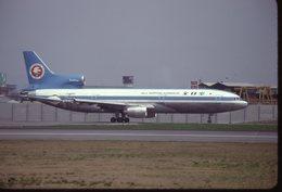 ALL NIPPON AIRWAYS  TRISTARD   JA8509 /    DIAPOSITIVE KODAK ORIGINAL - Diapositives
