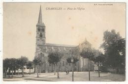 71 - CHAROLLES - Place De L'Eglise - BF - 1906 - Charolles