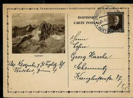 Entier Illustrée (Tatry - Montagne)  Obl. 22/05/1931 - Cartes Postales