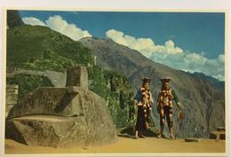 (705) Peru - Ruins Of Machu Picchu - The Intihuatana - Sun Observatory - Pérou