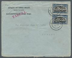 Ruanda-Urundi - Belgische Besetzung Deutsch-Ostafrika: 1916, Belgian Congo 25 Centimes With Overprin - Ruanda-Urundi