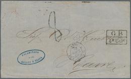 Kolumbien - Besonderheiten: 1863, Stampless Lettersheet From Rio Hacha 14 Mar 1863 To Le Havre/Franc - Kolumbien