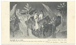 CARTE POSTALE PUBLICITE IONYL / 1954 IRAN / MARCO POLO LA TRAVERSEE DE LA PERSE - Advertising