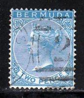 Bermudes 1865 Yvert 2 (o) B Oblitere(s) - Bermudes