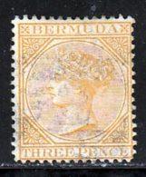 Bermudes 1865 Yvert 3 (o) B Oblitere(s) Signature Brun - Bermudes