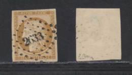 France 1850 Yvert 1 (o) B Oblitere(s) Signature Brun - 1849-1850 Cérès