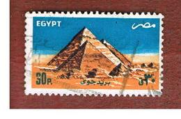 EGITTO (EGYPT) - SG 1572 - 1985  GIZA PYRAMIDS - USED ° - Egitto