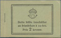 Schweden - Markenheftchen: 1922, Standing Lion, Complete Stamp Booklet 'Pris 2 Kronor.' Bearing 20 S - Carnets