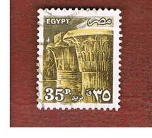 EGITTO (EGYPT) - SG 1586 - 1985  ANCIENT ARTIFACTS: KARNAK TEMPLE  - USED ° - Egitto