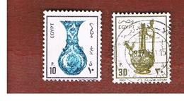 EGITTO (EGYPT) - SG 1580.1585 - 1989  ANCIENT ARTIFACTS  - USED ° - Egitto